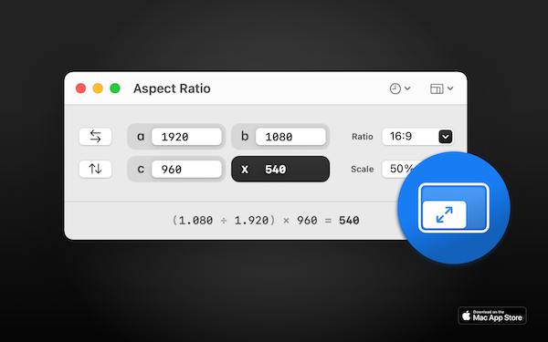 Aspect Ratio X screenshot 1