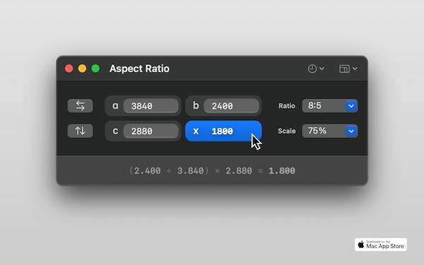 Aspect Ratio X screenshot 3