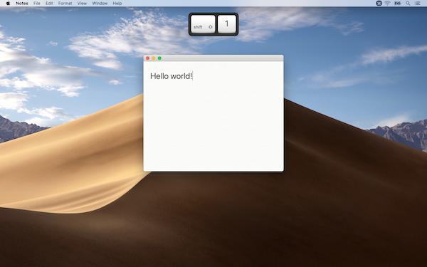 Keystroke Pro screenshot 1